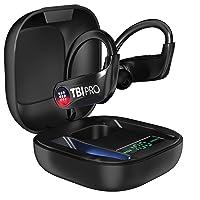 PowerPro Sport 5.0 Bluetooth Headphones - 50 Hours, HD Stereo Earbuds - Powerbeats...