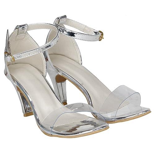 cf296ac27c6 MISTO VAGON Women and Girls HIGH Heels Sandals Sandals Casual Sandals Cone Heel  Sandals Sandals Heels