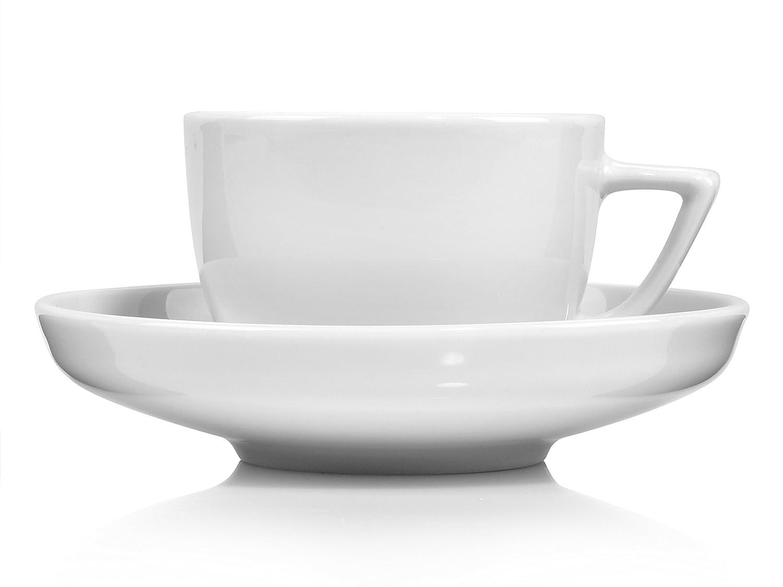 d8343c35ea Rosenthal Espressotassen Set 'Bianchi' aus Porzellan 12 teilig | Füllmenge  60 ml | Aufeinander abgestimmtes Set mit Untertassen: Amazon.de: Küche &  Haushalt