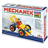 MECHANIX - Cars -1 DIY, Educational, Learning, Stem, Building and Construction Toys