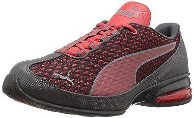 PUMA Men's Reverb Cross-Trainer Shoe, High Risk Red/Asphalt, 7 D
