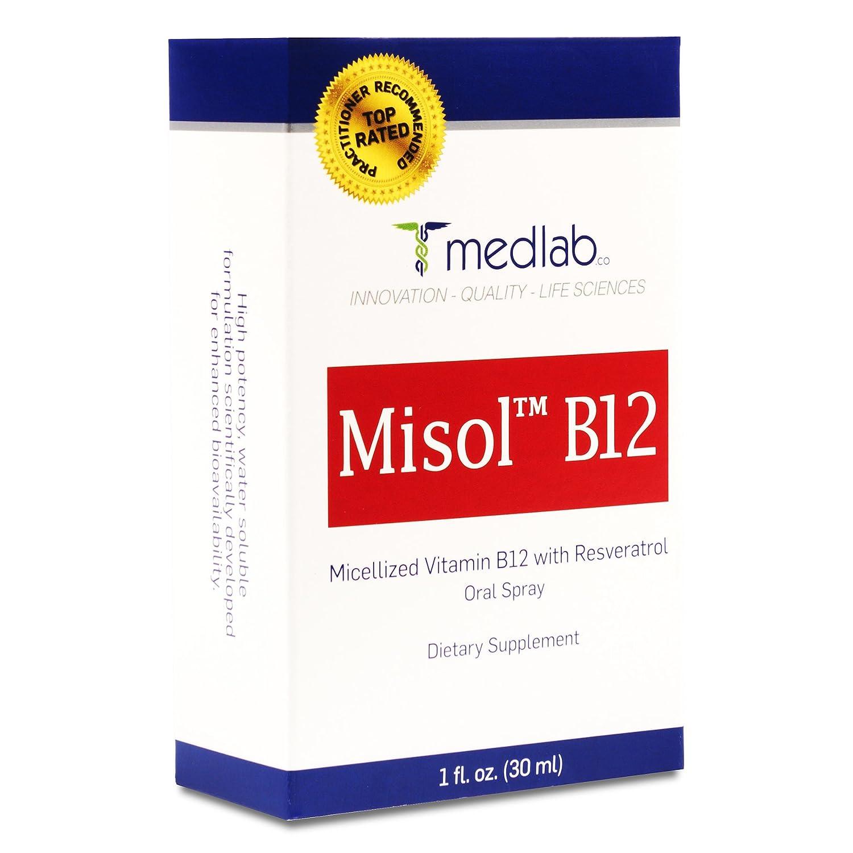 Vitamin B12 Spray Methylcobalamin Patent Pending Superior Micellization  Absorption Technology -