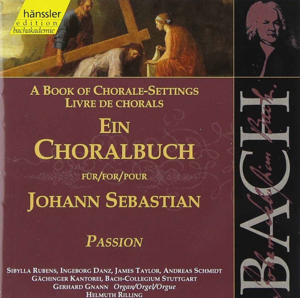 Popular product Bach: OFFicial store Book of Chorale-Settings Passion for