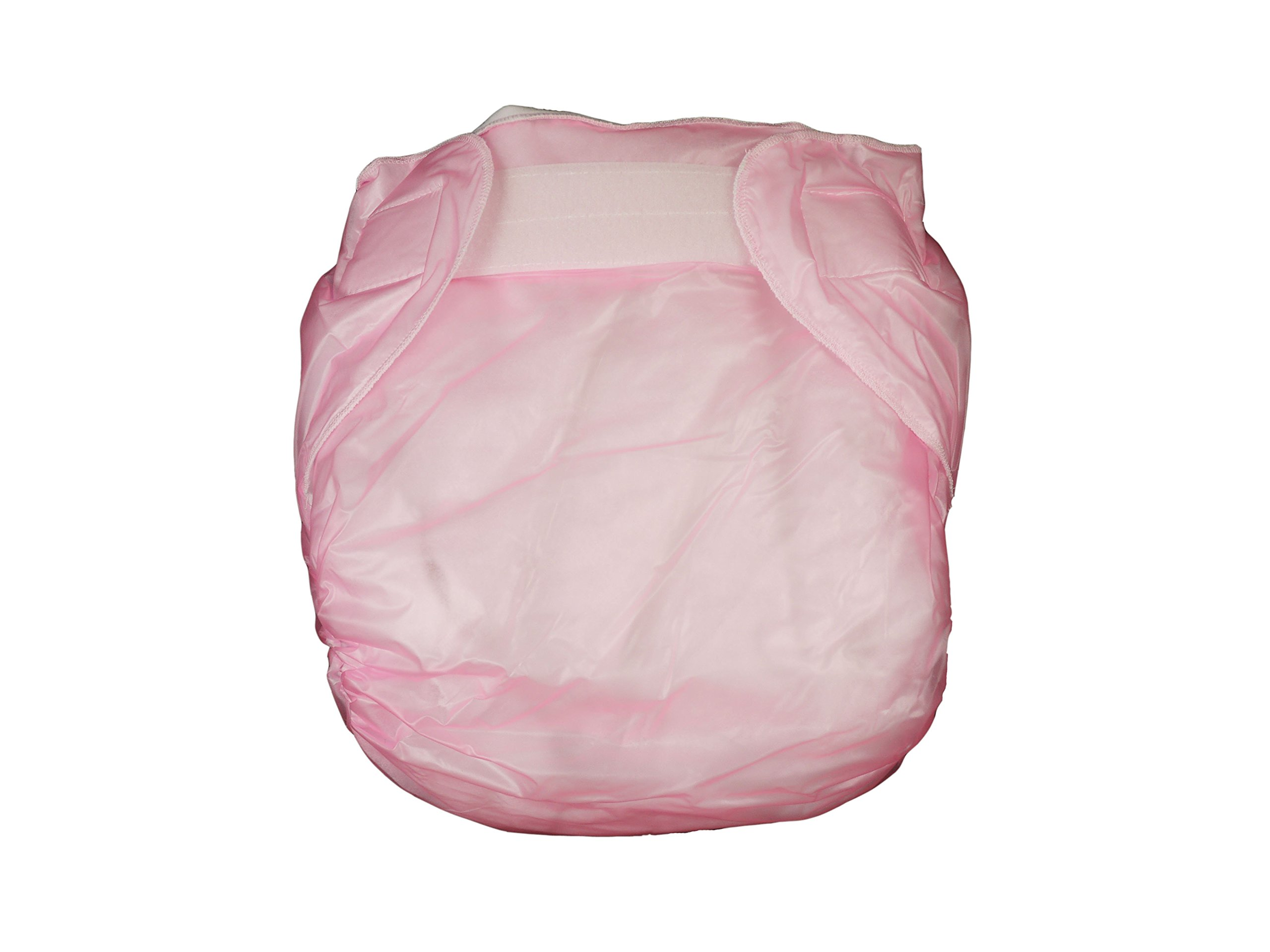 Amazon.com : Haian Adult Incontinence AIO Velcro PVC Diapers Color Transparent Pink (XX-Large) : Baby