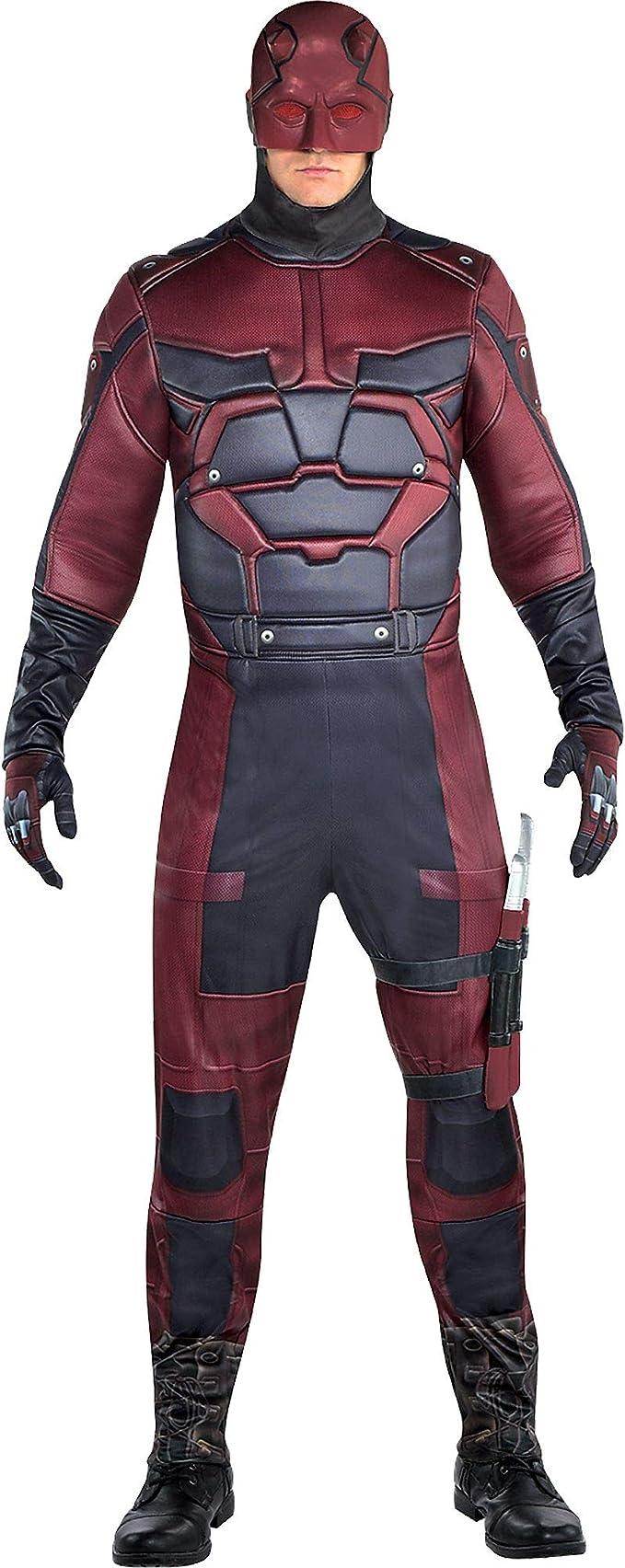 Amazon.com: Traje de Daredevil para hombre, tamaño estándar ...