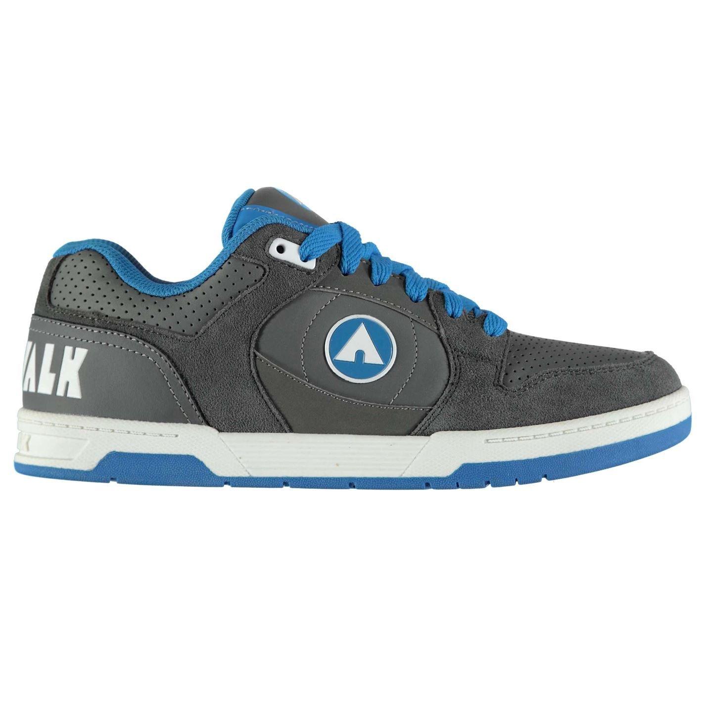 Original-Airwalk (-Skate-Schuhe, Herren Turnschuhe, Schwarz Blau, Skateboard
