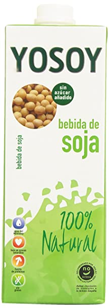 Yosoy - Bebida de soja - Sin azúcar añadido - 1 l