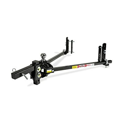 Equal-i-zer 4-point Sway Control Hitch, 90-00-1400, 14,000 Lbs Trailer Weight Rating, 1,400 Lbs Tongue Weight Rating, Weight Distribution Kit Includes Standard Hitch Shank, Ball NOT Included: Automotive