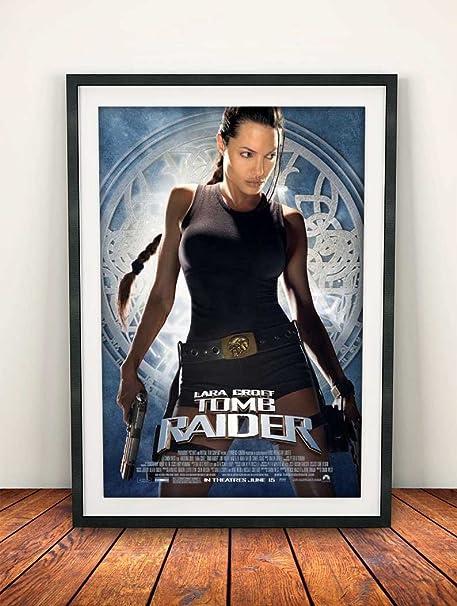 Lara Croft Tomb Raider 2001 Movie Poster Print Amazon Co Uk