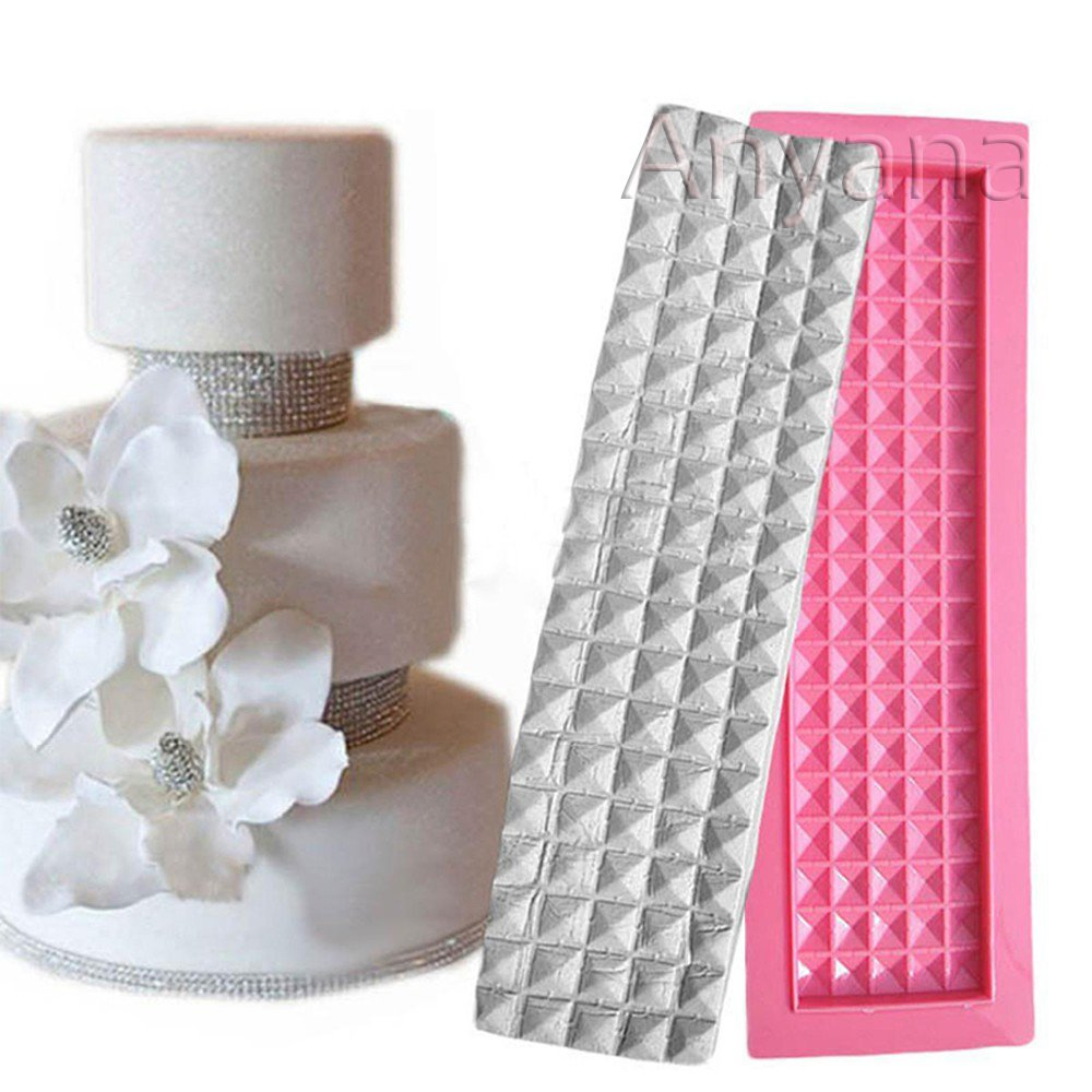 Amazon.com: Anyana wide edible rhinestone Baking Molds Spike RIVET ...
