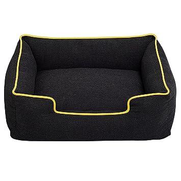 Zhaoke - Sofá de cama para mascotas, suave, cálido, rectangular, cojín de dormir para perros pequeños y medianos: Amazon.es: Productos para mascotas