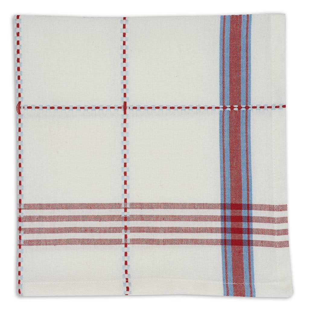Heart of America Coopeville Plaid Napkin - 6 Pieces