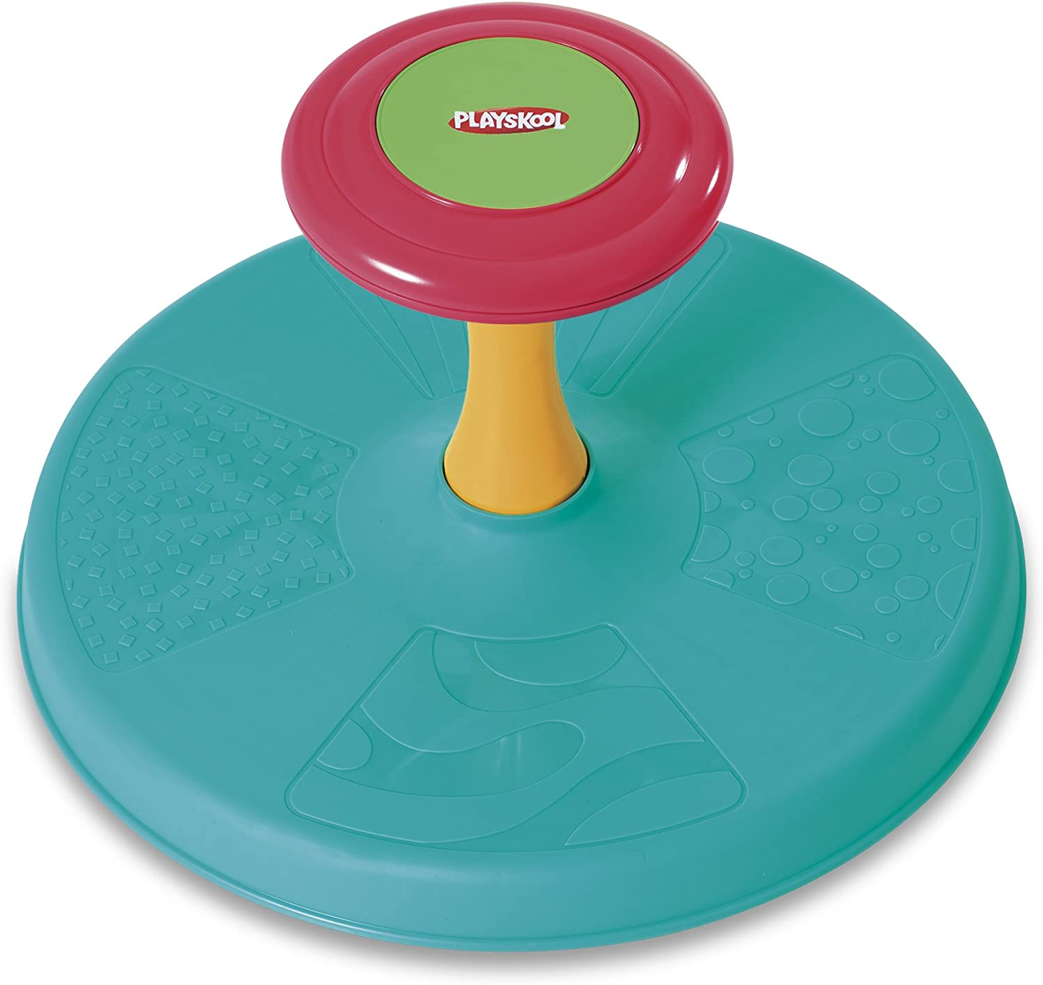 B0050Q3PXS Playskool Sit 'n Spin Classic Spinning Activity Toy for Toddlers Ages Over 18 Months (Amazon Exclusive) 713FObShp1L.SL1500_