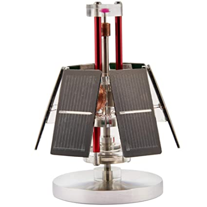 49cf6cdd9f9 Image Unavailable. Image not available for. Color  Sunnytech Solar  Mendocino Motor Magnetic Levitating Educational Vertical Stand Model QZ05
