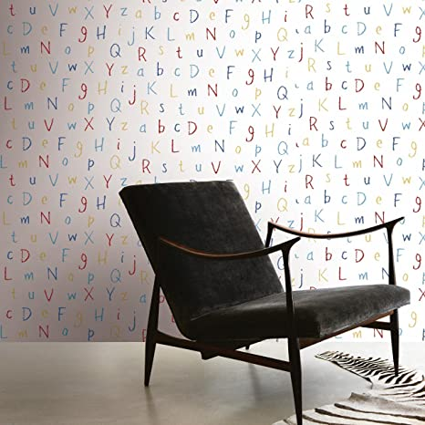 A.B.C.D. WALLPAPER - Beans Collection for Kids
