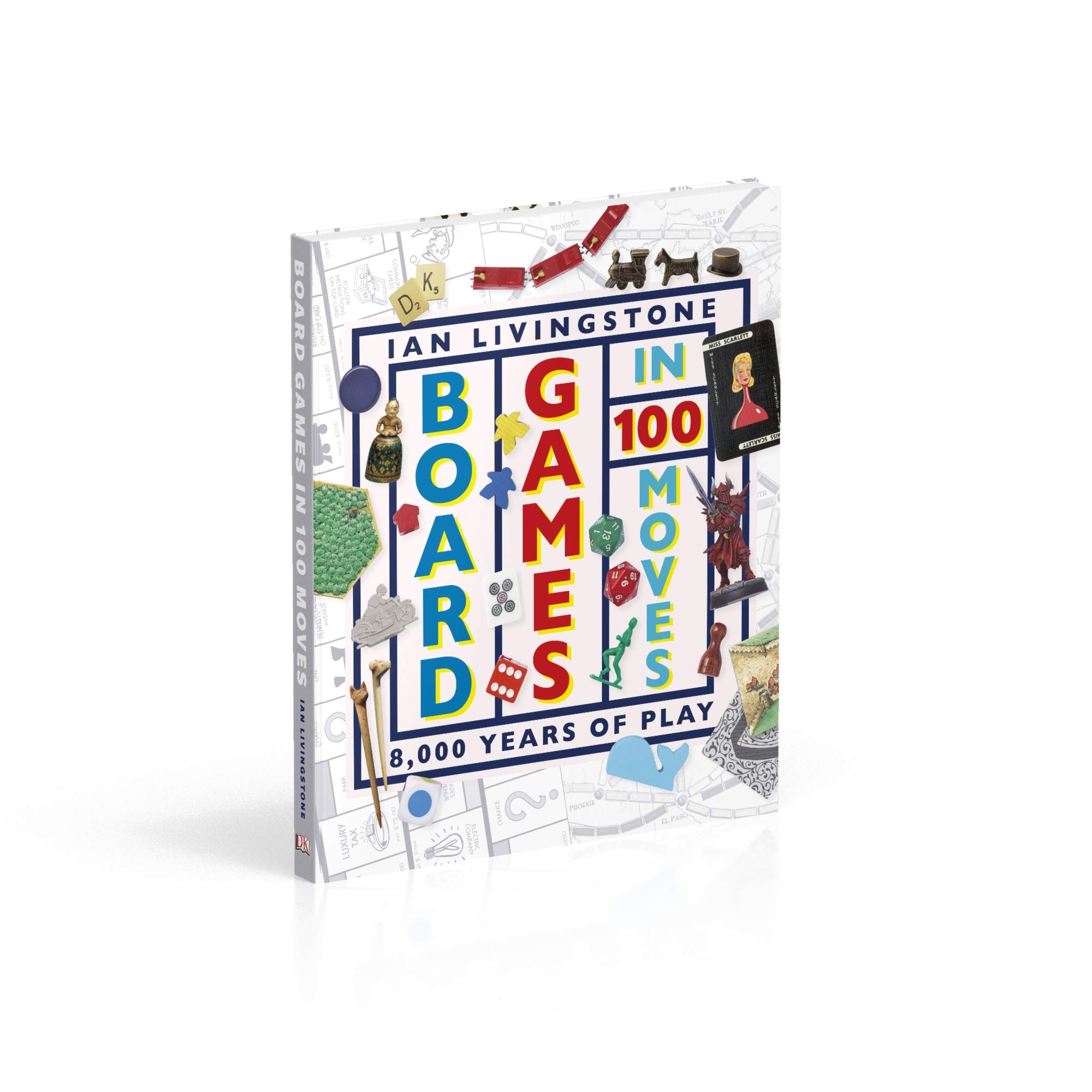 Board Games in 100 Moves: Amazon.es: Livingstone, Ian, Wallis, James: Libros en idiomas extranjeros