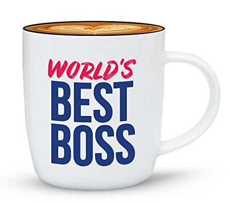 Christmas Gift Ideas For Him Amazon.Gifffted The Worlds Best Boss Ever Coffee Mug Bosses Day Gifts Ideas For Boss S Present For My Greatest Boss Male Or Female Men Women Christmas