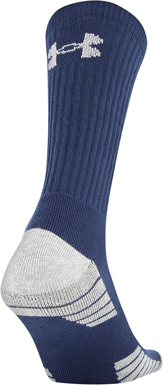 Under Armour HeatGear Tech Crew Socks 3-Pairs