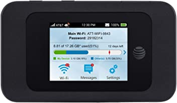 ZTE Velocity 2 (2nd Gen) 4G LTE Mobile WiFi Hotspot GSM Unlocked - Black