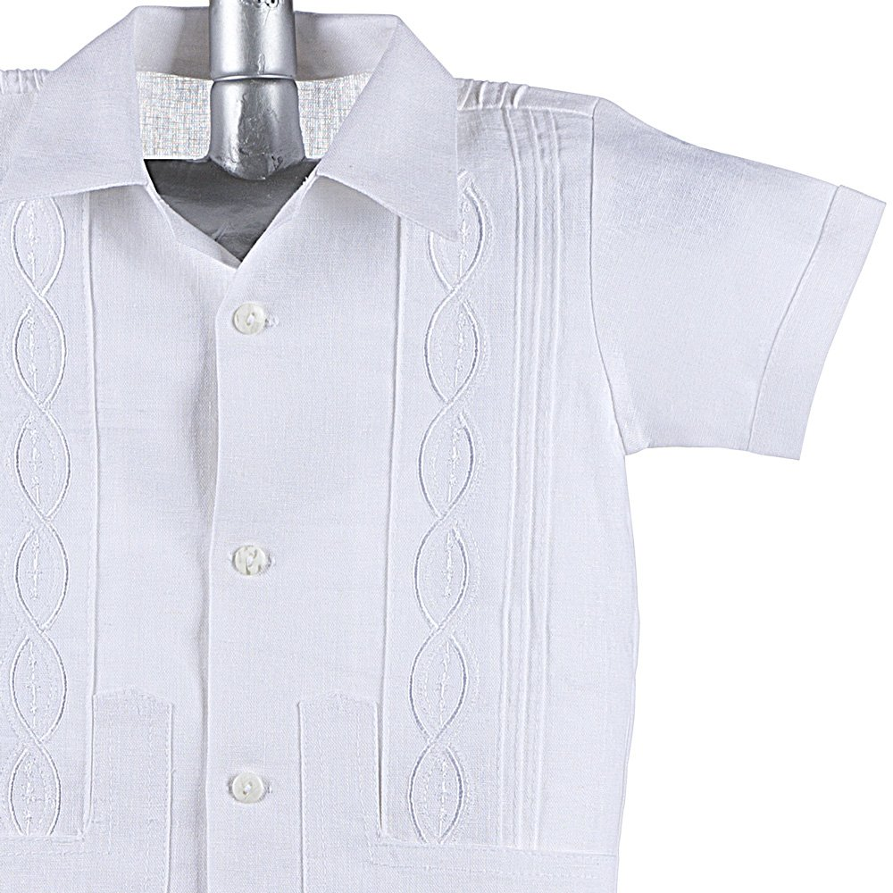 7e917aece867 Amazon.com  Boys Guayabera Shirt