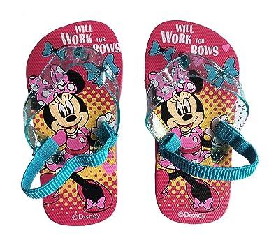 d6535401b78 Minnie Tongs Filles avec Elastique - Fushia  Amazon.fr  Chaussures et Sacs