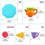 Peradix Tea Set - BPA Free, Phthalates Free Kids
