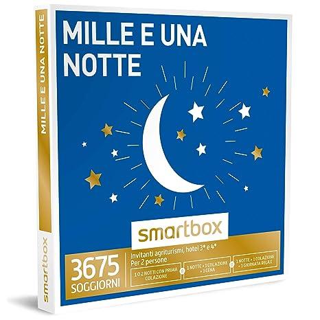 Smartbox - Mille e Una Notte - 3675 Soggiorni Con Possibilità Di Cena o  Momento Relax In Agriturismi e Hotel 3* e 4* Cofanetto Regalo Gastronomici