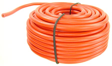 wire 18 gauge red 40 feet hobby auto electric wires electrical rh amazon co uk