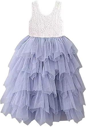 Toddler Baby Kids Flower Girls Princess Party Cute Sundress Tutu Dresses Clothes