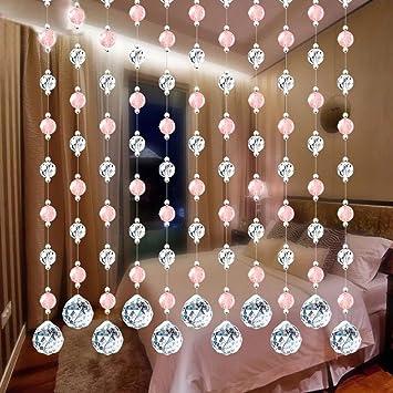 DIY Dekor Perlenvorhang Kristallglas Perlen Vorhang Vorhänge Luxus  Wohnzimmer Schlafzimmer Fenster Tür Hochzeit Dekor Türvorhang Kristall