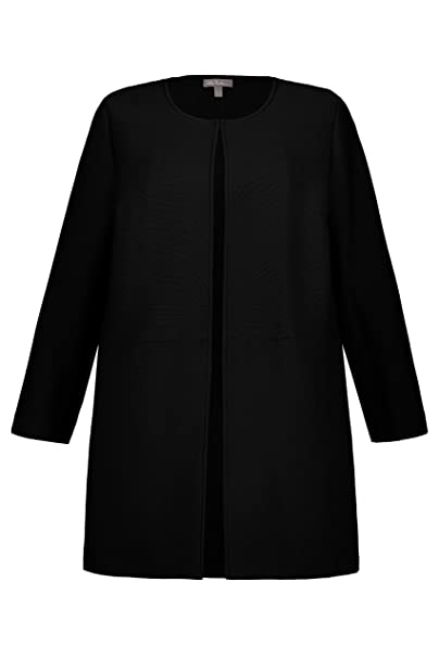 neuartiges Design bester Großhändler weltweite Auswahl an Ulla Popken Große Größen Damen Jacke Longjacke offene Form