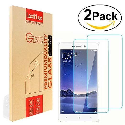 2 opinioni per 2 Pack Pellicola Vetro Temperato Xiaomi Redmi 3 Pellicola Protettiva , Leathlux