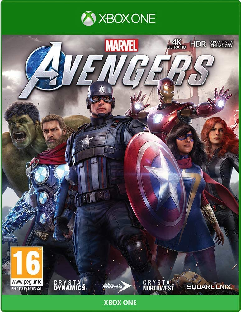 Marvels Avengers - Xbox One [Importación inglesa]: Amazon.es ...