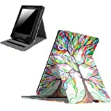 Fintie Flip Case for Kindle Paperwhite - Vertical Multi-Viewing PU Leather Cover with Auto Sleep/Wake for All-New Amazon Kindle Paperwhite (Fits All 2012, 2013, 2015 and 2016 Versions), Love Tree