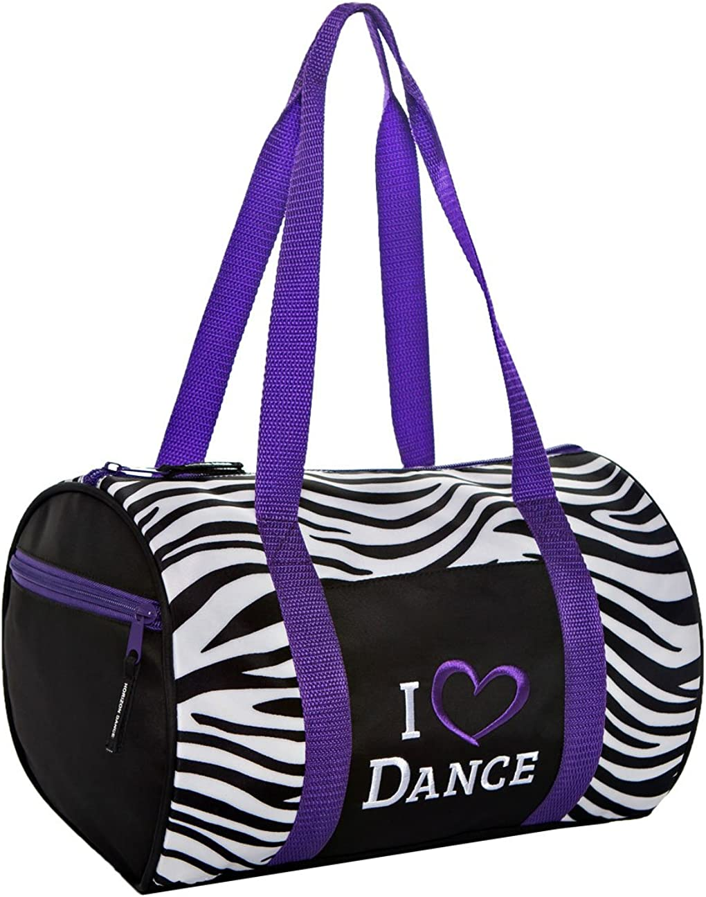 Pink Skull and Crossbones Zebra Design Sports Bag