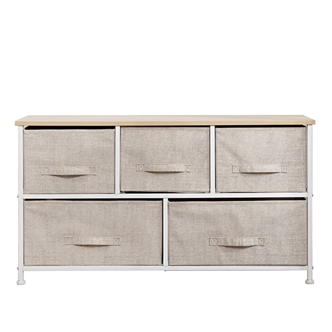 Sideboard commode armoire hoghboard Stand Armoire Couloir Blanc paniers de rangement