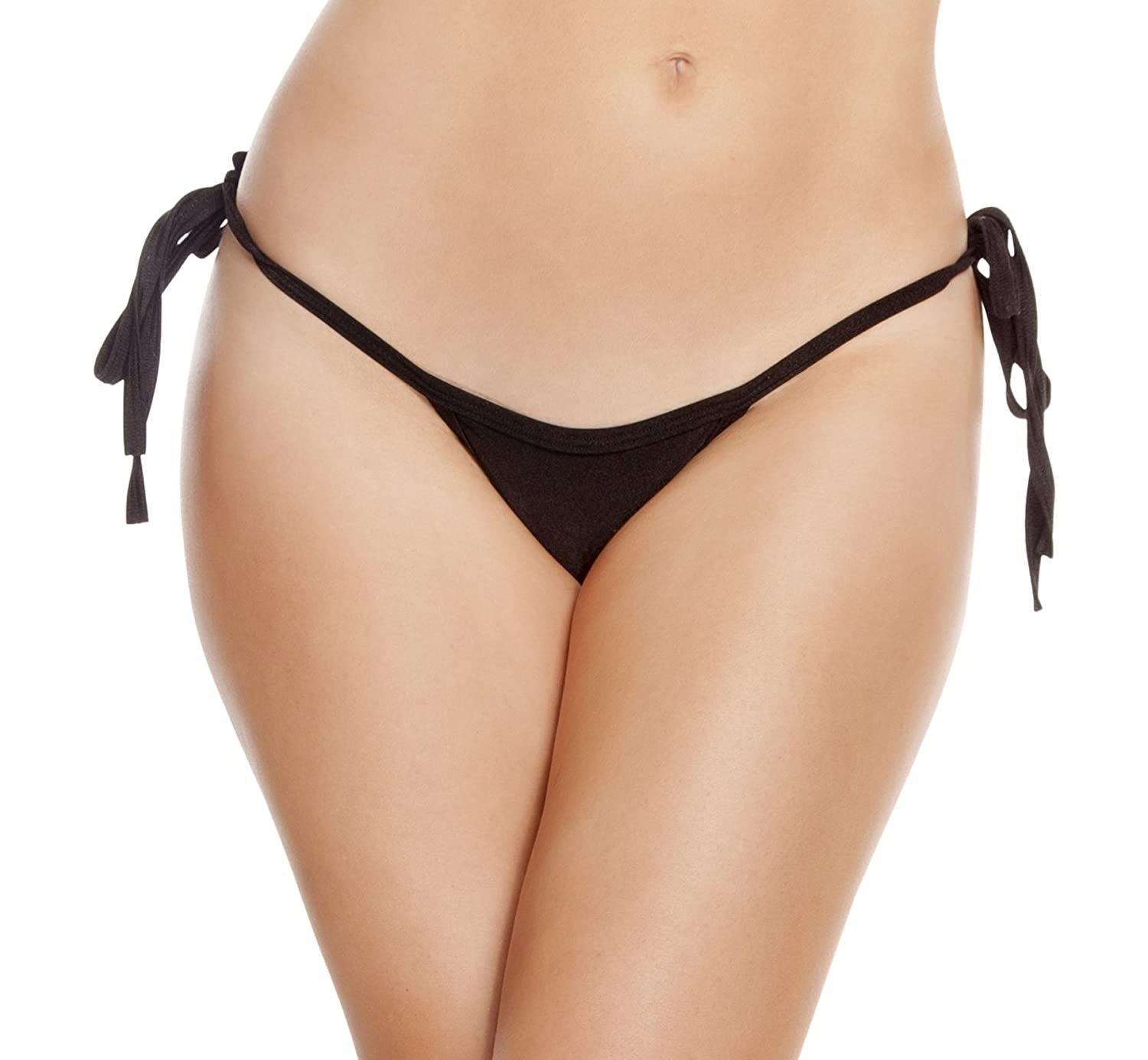 Low rise thong bikini swimsuit