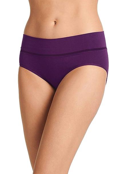 231589536eb Jockey Women s Underwear Natural Beauty Seamfree Hipster at Amazon ...