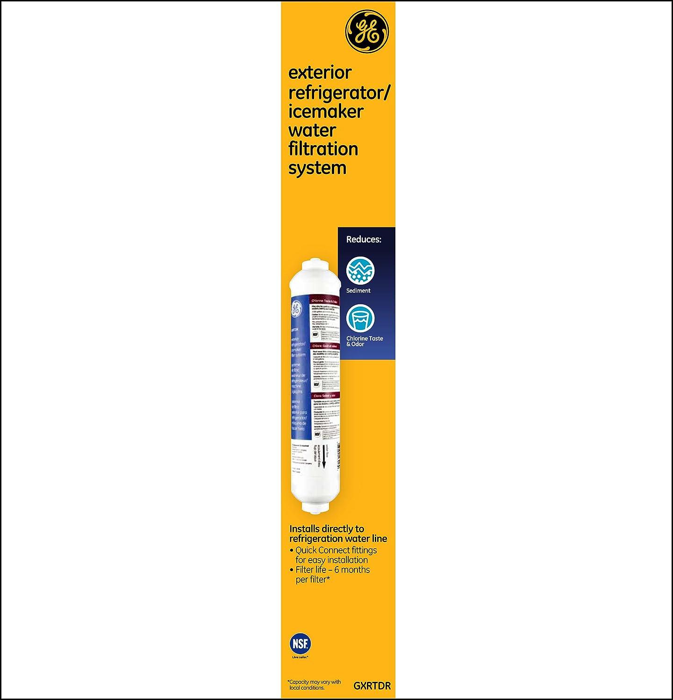 Refrigerator Ice Maker Filter Amazoncom Ge Gxrtdr Exterior Refrigerator Icemaker Filtration