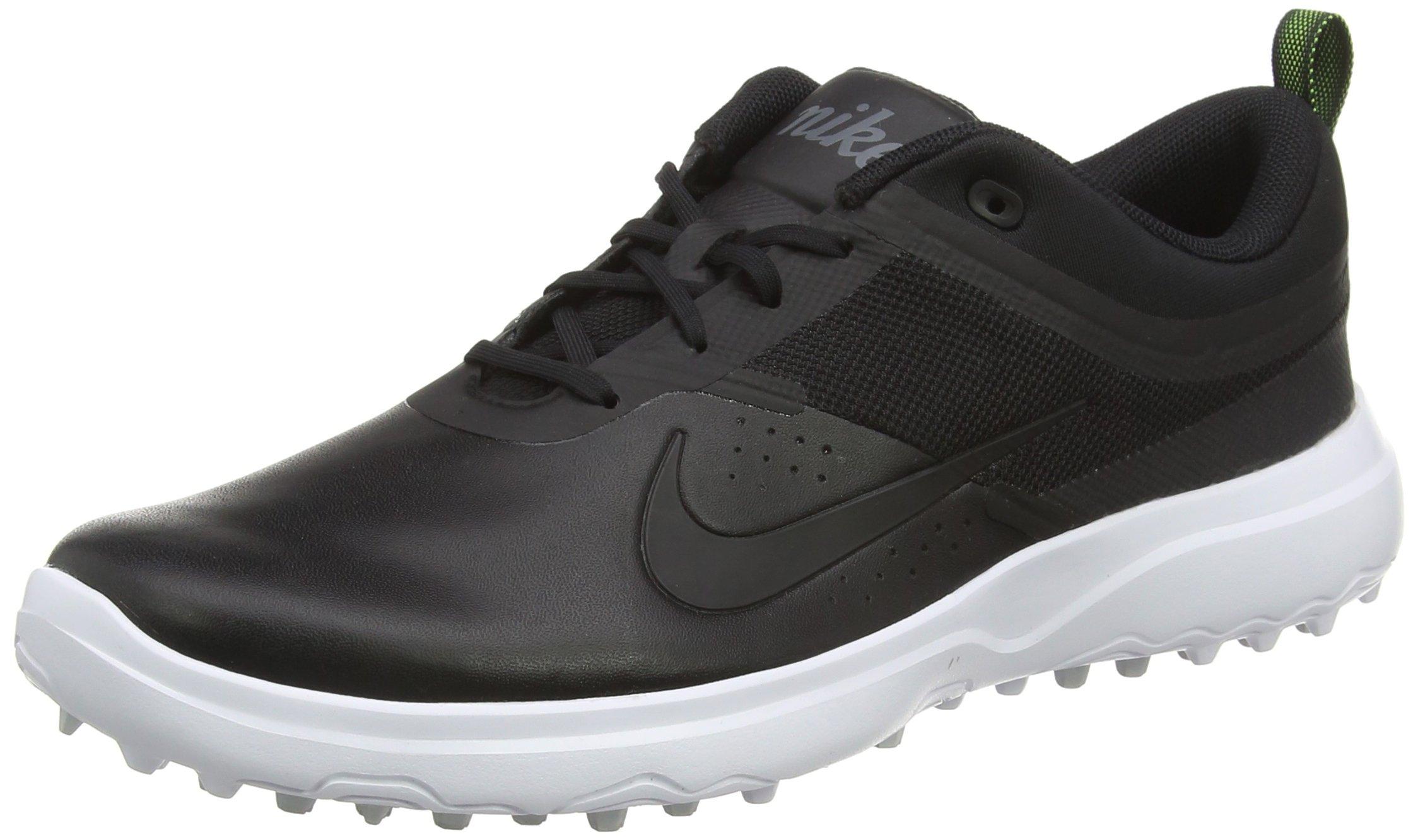 Nike AKAMAI Spikeless Golf Shoes 2017 Women Black/White/Pure Platinum/Black Medium 6.5