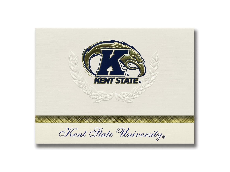 Signature Ankündigungen Kent State University Graduation Ankündigungen, platin platin platin Stil, Elite Pack 20 mit Kent State University Logo Folie B0793NBHQG | Billiger als der Preis  728207