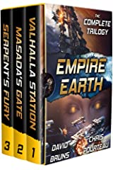 Empire Earth (The Complete Trilogy): A Space Opera Boxed Set Kindle Edition