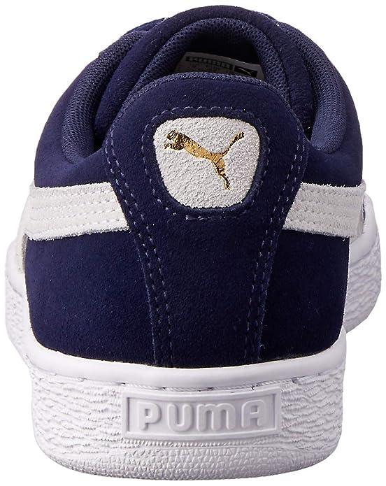 Puma Herren Suede Classic + Sneaker, DunkelblauWeiß, 42 EU