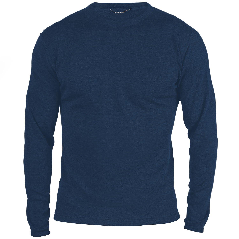 MERIWOOL Men's Merino Wool Midweight Baselayer Crew - Choose your Size & Color