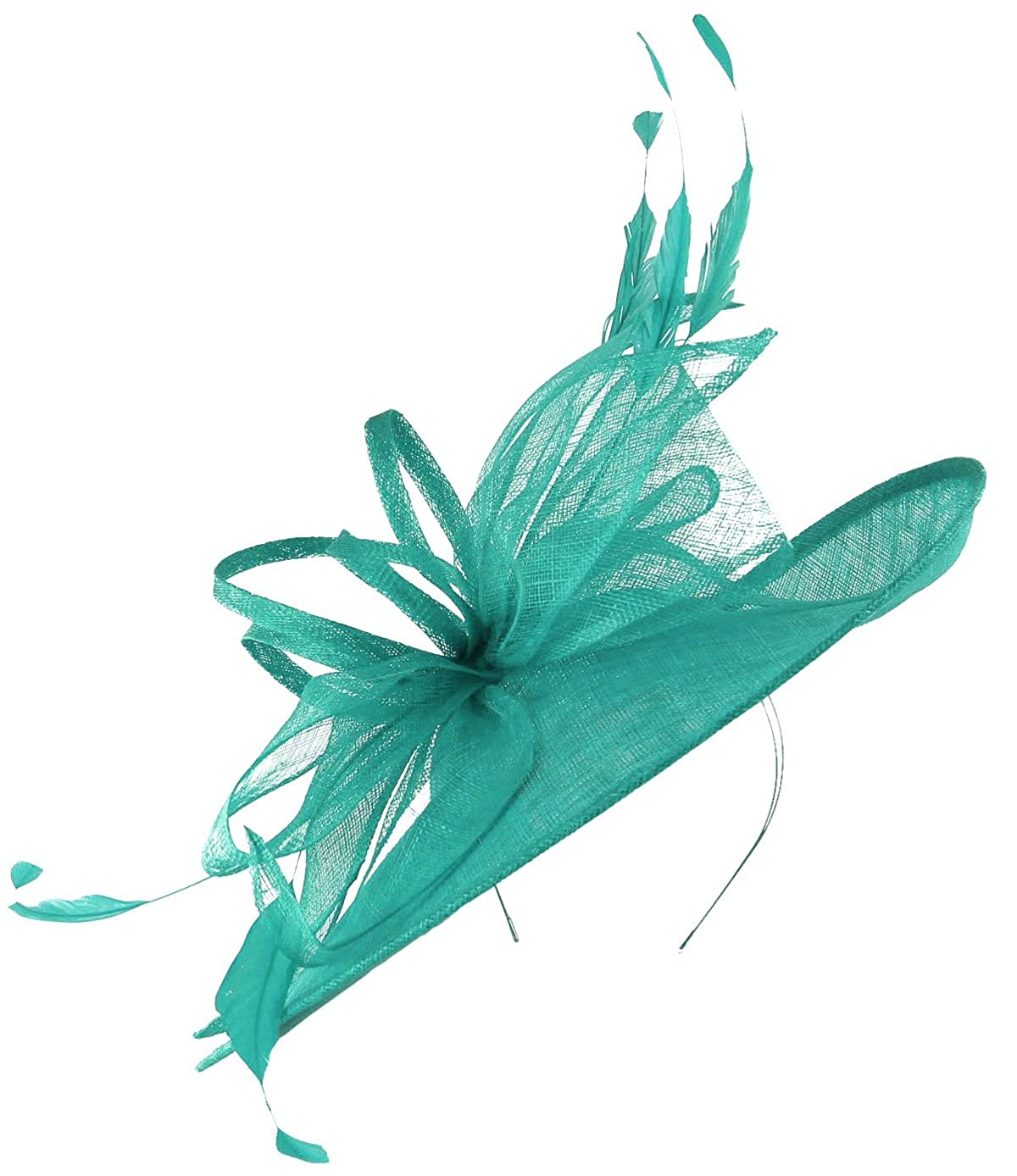 Turquoise Max and Ellie Derby Disc Headpiece