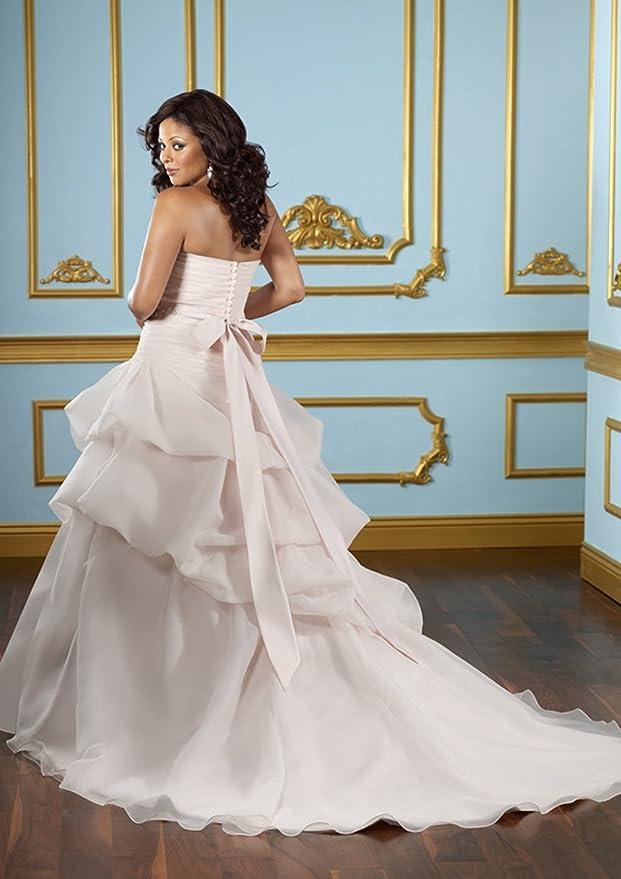Wedding Family A Line Princess V Neck Floor Length Chiffon Dress At Amazon Womens Clothing Store
