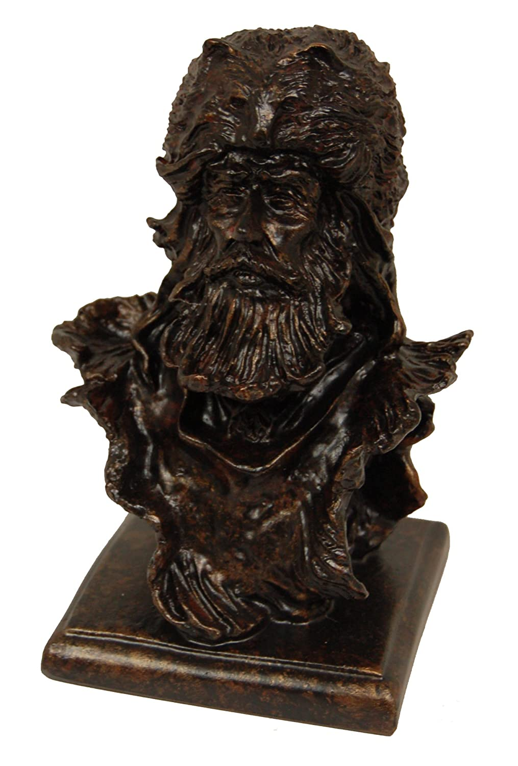 Hickory Manor House Mountain Man Bust or Napoleon Decorative Accessory