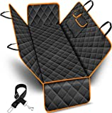 URPOWER 100% Waterproof Pet Seat Cover Car Seat Cover for Pets - Scratch Proof & Nonslip Backing & Hammock, Quilted…