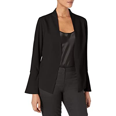 Adrianna Papell Women's Knit Jacket with Bell Sleeve at Amazon Women's Clothing store