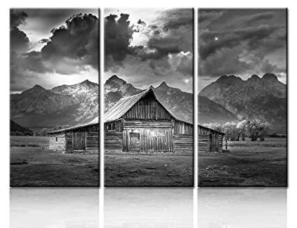 Amazoncom Wall Art Panels Large For Living Room Cabin Decorations